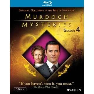Murdoch Mysteries Season 4 [Blu ray] ~ Jonny Harris, Yannick Bisson