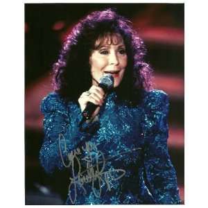 LORETTA LYNN COUNTRY MUSIC COAL MINERS DAUGHTER AUTOGRAPHED 8 X 10