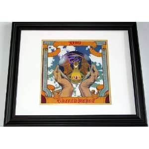 Ronnie James Dio Autograph Signed Sacred Heart Album