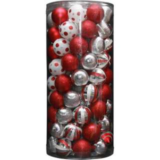 Holiday Time 101 Piece Shatterproof Christmas Ornament