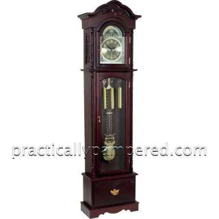 NEW Edward Meyer Grandfather Clock, 31 day Movement, Chimes Hour/Half