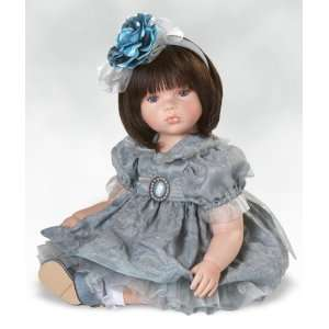 Silver Lining, 13 Inch Collectible Girl Doll in Porcelain