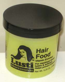 Lusti Professional Hair Food Vitamin Enriched ~USA Made