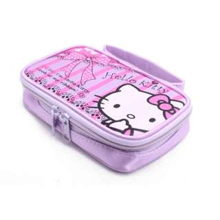 PURPLE HELLO KITTY BAG CASE FOR NINTENDO DS LITE NDSi