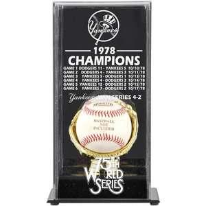 MLB   1978 New York Yankees World Series Champs Display