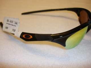 Oakley Half Jacket Sunglasses / Jet Black / Fire 03 613   New In Box