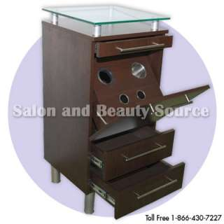 Styling station beauty salon spa furniture equipment for Salon furniture makeup station