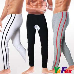 MENS THERMAL 3Color UNDERWEAR Long John Pants / Trousers Stretch