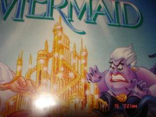 The Little Mermaid Banned Recalled VHS Cover Tape Movie Disney Classic