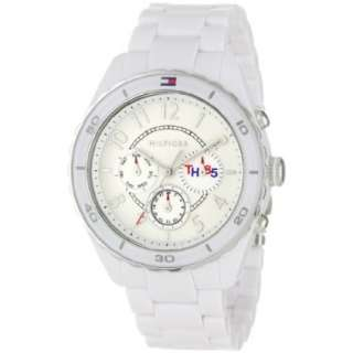 Tommy Hilfiger Womens 1781083 Sport Multi Eye White Bracelet Watch