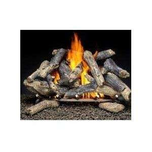 Firegear 30 inch Prairie Fire Vented Propane Gas Log Set