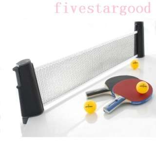 Rollnet 600 Set Table Tennis Ping Pong Net,Paddles,Balls