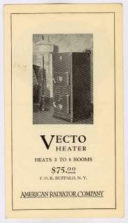 American Radiator Ideal Heater Heating 1927 Brochure