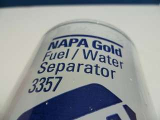 Napa Gold 3358 Fuel / Water Separator Filter Fits Many Diesel Engines