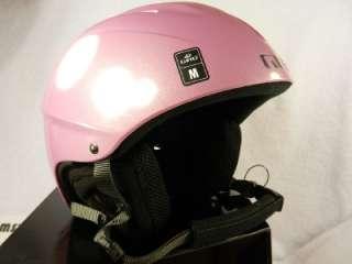 New Giro S4 Ski Snowboard Helmet Medium 55.5 57 cm M Pink