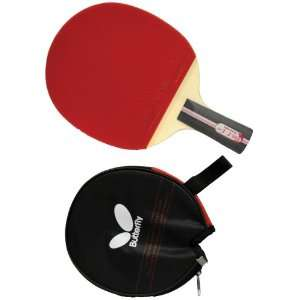 Butterfly 302 Penhold Table Tennis Racket  Sports