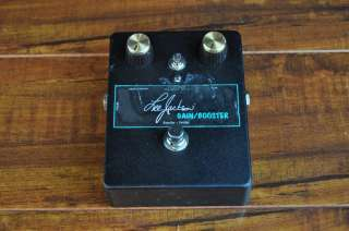 LEE JACKSON Gain/Booster Effect Pedal Owned & Used by Paul Gilbert Mr