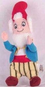 Big Ears Noddys Friend McDonalds Plush Toy 2001 |
