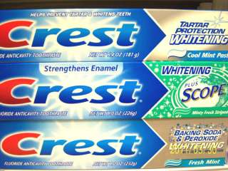 Crest Toothpaste Whitening  Pro Health  Scope