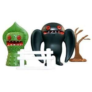 Mothman vs The Flatwoods UMA Super Market Toy Playset   by